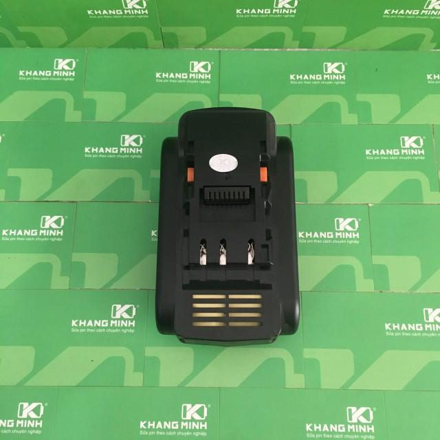 Vỏ mạch pin Panasonic 14.4V, 2 hàng cell, nhận sạc zin hệ 80.