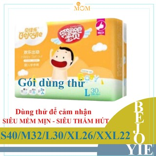 [GÓI DÙNG THỬ] Bỉm dán quần Bejoyie S40 M32 L30 XL26 XXL22 - Bỉm & Tã giấy sản phẩm ngành hàng Mẹ và Bé. thumbnail