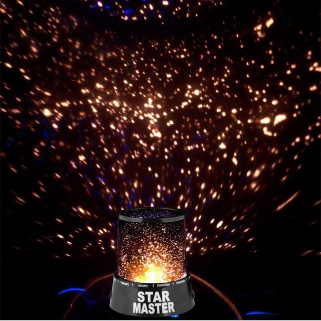 [SALE 10%] Đèn chiếu sao Star Master lãng mạng nhiều hình xài pin 2A