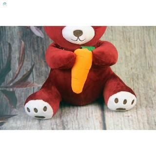 [Safe]Gấu Oenpe bông teddy đáng yêu ôm carot