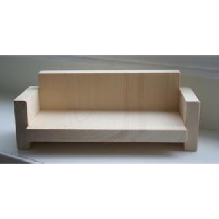 Ghế sofa gỗ cho búp bê