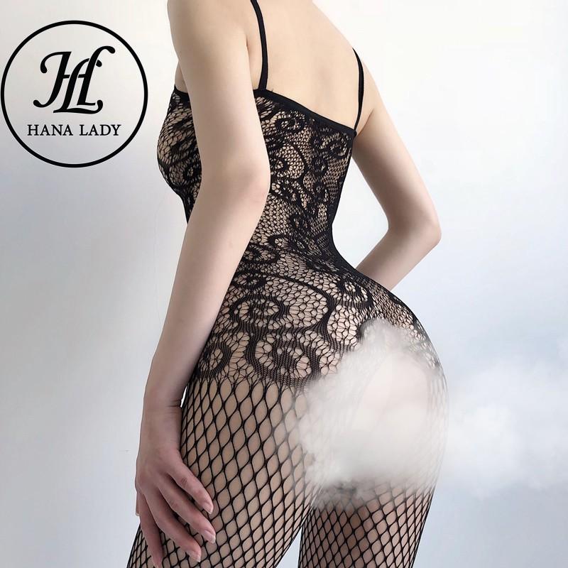 Mặc gì đẹp: Ngủ ngon hơn với Bodysuit lưới sexy , đồ ngủ bó sát siêu gợi cảm khiêu gợi VN279