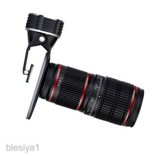 Bộ kit ống kính lens zoom 12.8X HD nhìn xa mắt cá dành cho điện thoại 5 trong 1 thumbnail