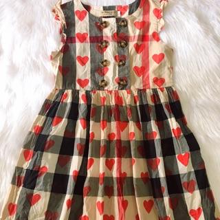 Đầm kẻ buberry cho bé( Thuy pham)