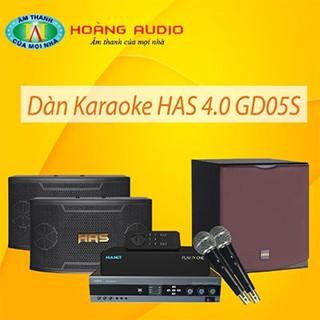Bộ dàn karaoke gia đình HAS 4.0 GD05S thumbnail