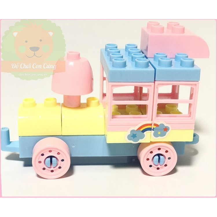 Vali đồ chơi lego heo Peppa