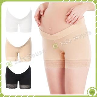 Yêu Thích+Quần Mặc Váy Bầu Vải Modal Siêu Mềm Mịn (Đũng Lót Rộng Không Cần Mặc Quần Lót) - Chính hãng EnjoyPreg - QL07