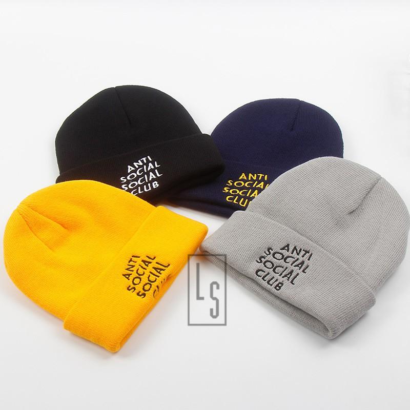 Mũ Nón Len ANTI SOCIAL CLUB ASSC 4 màu - SẴN HÀNG