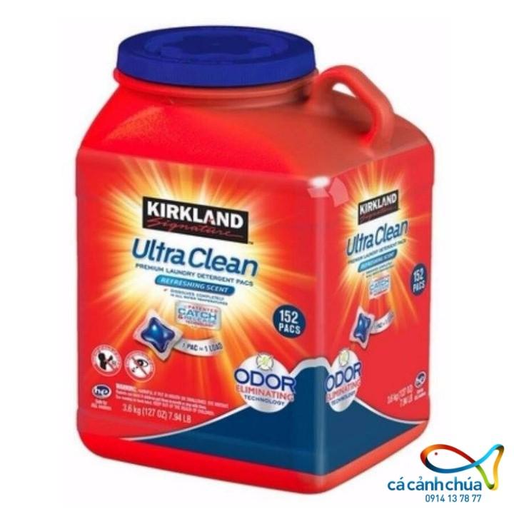 Viên Giặt xả Quần Áo KIRKLAND ULTRA CLEAN 152 viên - Mỹ