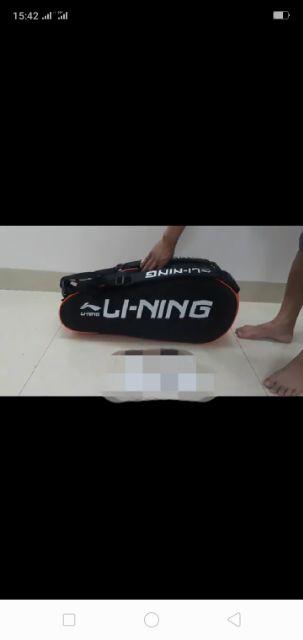 Túi đựng vợt cầu lông tặng balo thể thao