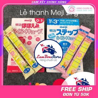 CHÍNH HÃNG NHẬT Tách lẻ Sữa Meji thanh cho bé từ 0-1 tuổi, 1-3 tuổi, thanh 27g – Xuất xứ Nhật