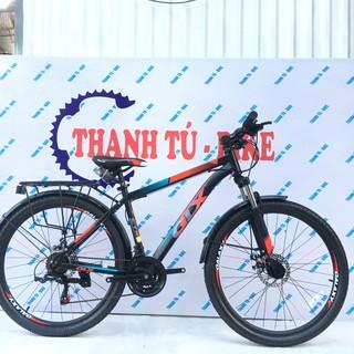 xe đạp GALAXY CT9T size 26 có baga nhôm chắc khỏe, xe đạp học sinh thể thao thumbnail
