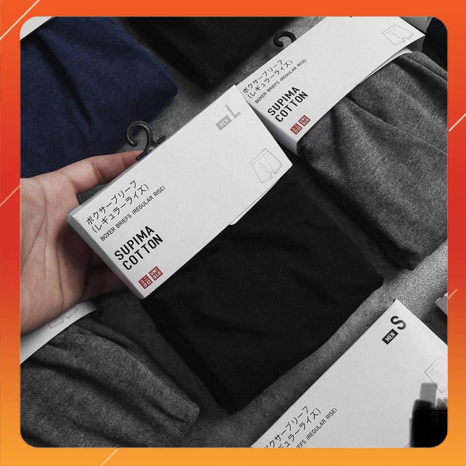 Sịp đùi nam boxer cotton co dãn 4 chiều UNI dư xịn VNXK (sỉ inbox)
