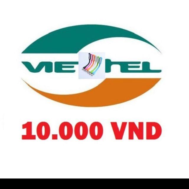 Mã thẻ viettel 10k ( nhận mã qua chat với
