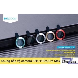 Bảo vệ camera IPhone 11 /11 Pro / 11 Pro Max chính hãng KUZOOM