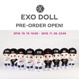 {SM official – Có sẵn} EXO doll official