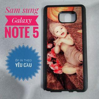 Ốp Sam Sung Galaxy note5 in theo yêu cầu