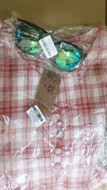 Đánh giá sản phẩm Áo Sơ Mi Nữ Form Rộng Tay Lỡ Kẻ Sọc Caro ASMG3 sbsx của linhmilks