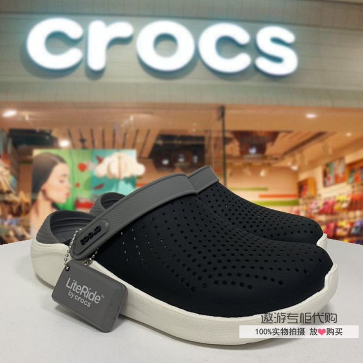 Genuine 100% Crocs Duet Sport Clog Unisex Slippers sandals