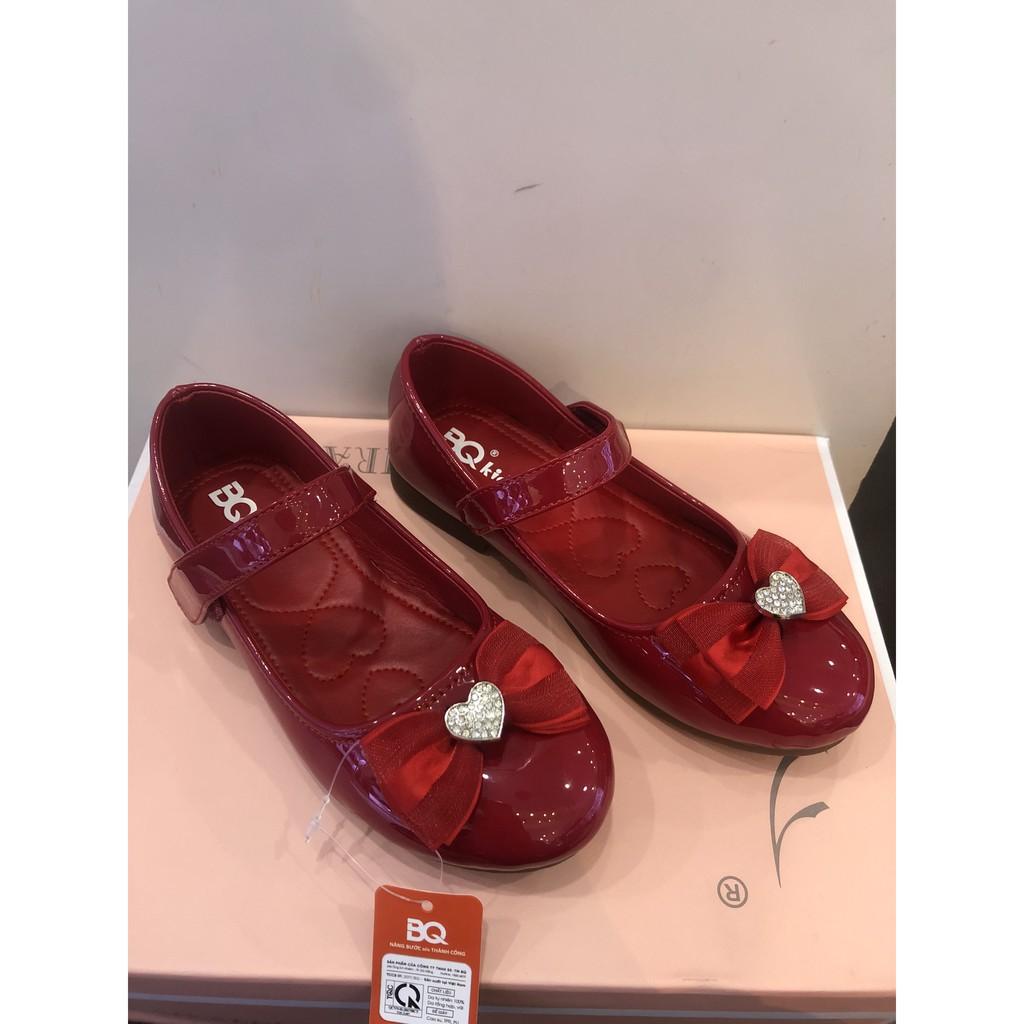 Giày búp bê bé gái BQ 31-36 ❤️FREESHIP❤️ Giày Búp Bê Bé Gái Nơ Trái Tim Xinh Xắn BBAT889-5