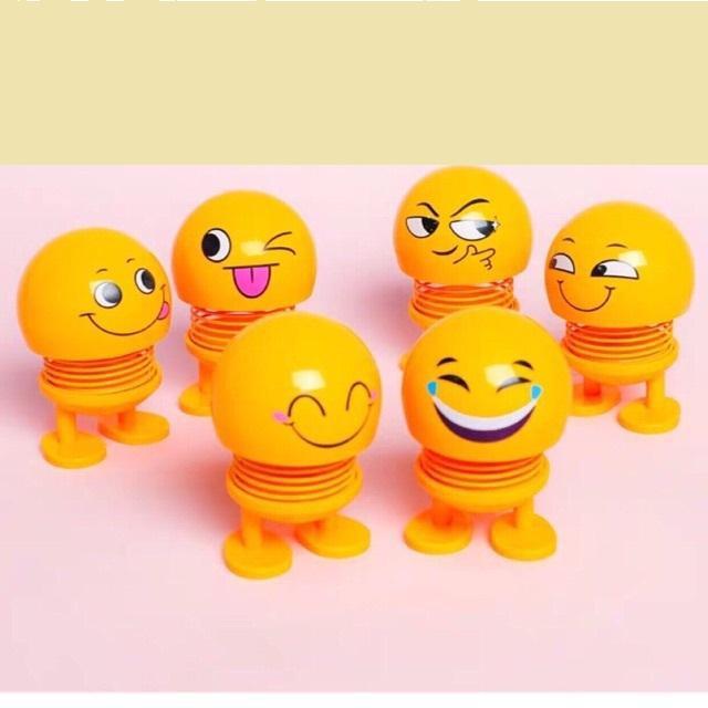 Thú nhún lò xo lắc đầu mặt cười cảm xúc giải toả căng thẳng