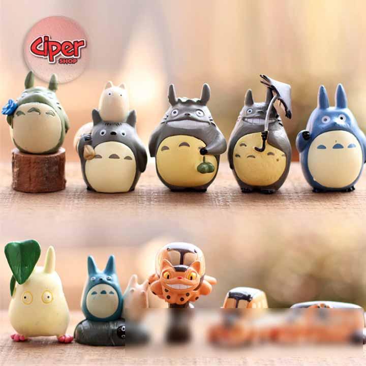 Bộ 10 mô hình Totoro - Mô hình Totoro