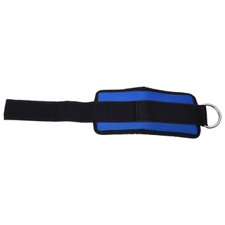 High Quality Ankle Strap D-ring Sport Attachment Pulley Weight Lifting Blue Black ZJV