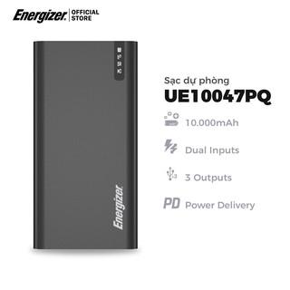 Sạc dự phòng Energizer 10.000mAh UE10047PQ - Tích hợp sạc nhanh đa nền tảng