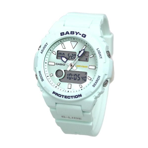 Đồng hồ nữ dây nhựa Casio Baby-G chính hãng Anh Khuê BAX-100-3ADR