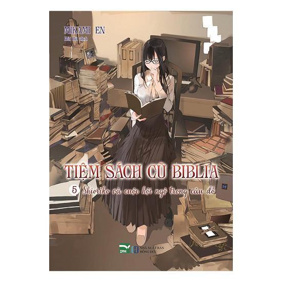 Sách - Light Novel - Tiệm Sách Cũ Biblia (Tập 5 - Tặng Postcard)