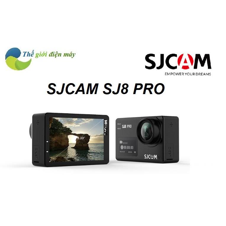 [Giá hủy diệt]Camera hành trình SJCAM SJ8 Pro 4K 60 FPS phiên bản full phụ  kiện cao cấp nhất của SJCAM,