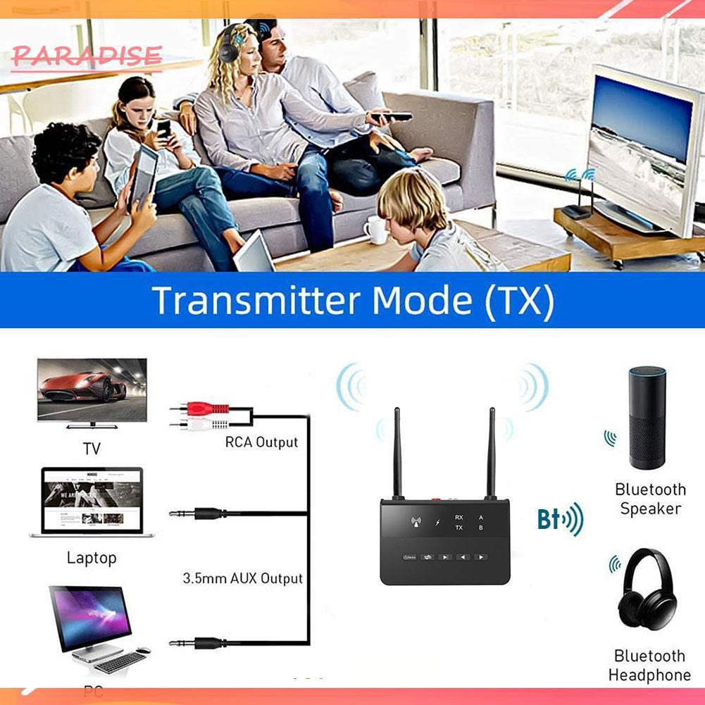 Bộ Thu Phát Tín Hiệu Bluetooth Không Dây 2 Trong 1 Thiên Đường Kính 1. B2