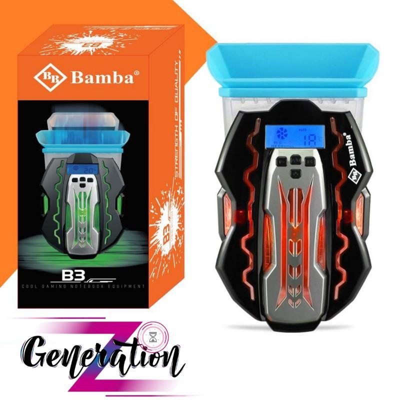 MÃ MỚI Đế tản nhiệt laptop BAMBA B3 BH 12 THÁNG FREE SHIP