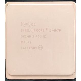 CPU i5 4670