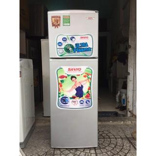 Tủ lạnh Sanyo Aqua 160 lít, máy móc nguyên zin