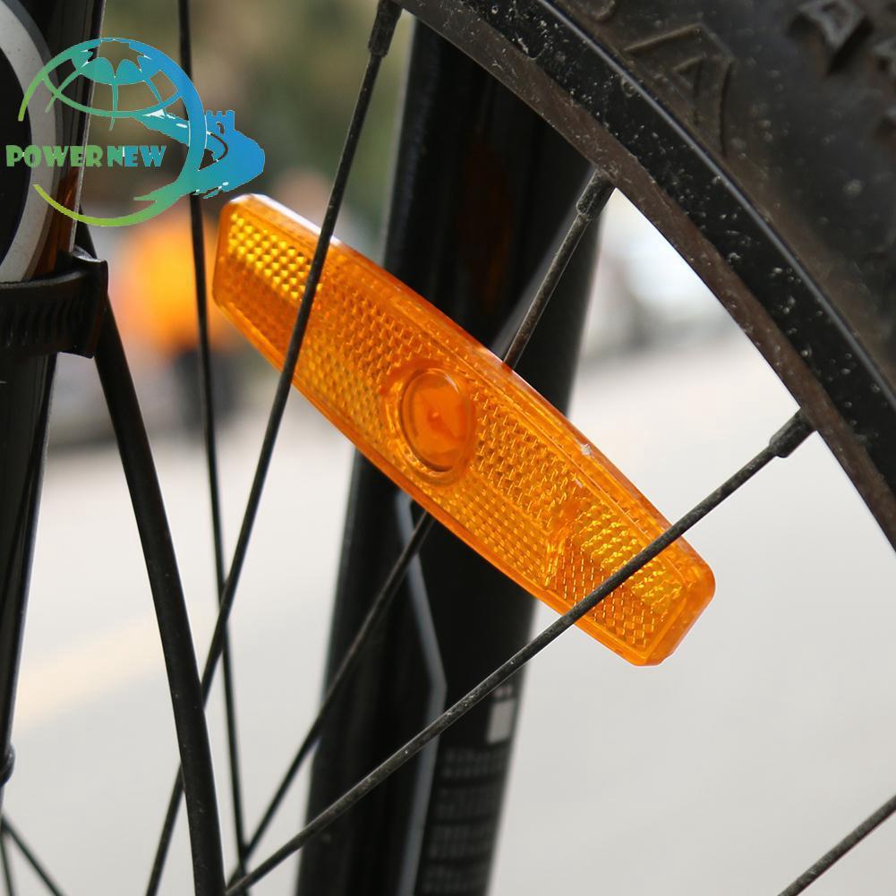 ★Powernew★ Bicycle Spoke Plsatic Reflective Lens Wheel Rim Reflectors Safe Warning★