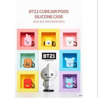 (CÓ SẴN COOKY) Case airpods BT21 (HÀNG OFFICIAL) thumbnail