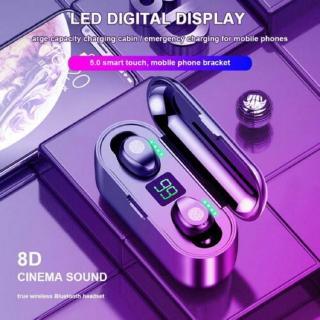 Tại Nghe Bluetooth 5.0 Không Dây Mini F9 Kèm Hộp Sạc thumbnail
