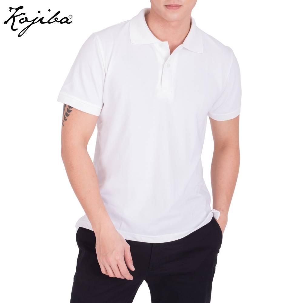 Áo thun polo nam cổ bẻ Kojiba ngắn tay dáng ôm vải cotton co giãn ACB01