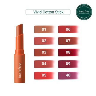Son thỏi lâu trôi innisfree Vivid Cotton Stick 2g