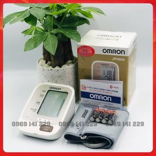 Máy đo huyết áp tự động bắp tay OMRON JPN600, Made in JAPAN, bảo hành 5 năm thumbnail
