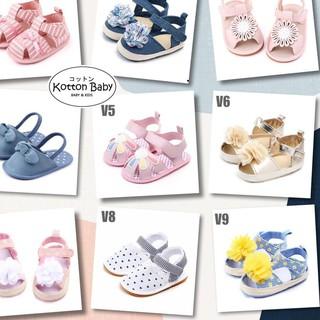 Giày Búp Bê Xinh Xắn Cho Bé Gái 0-15 Tháng Tuổi