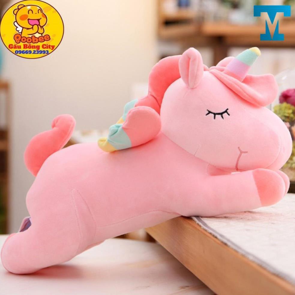 Gấu Bông Kì Lân – Thú nhồi bông ngựa unicorn hàng cao cấp