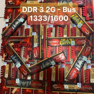 DDR3 RAM 2G - Bus 1333 1600 G.KILL Tản Nhiệt Thép Và Lá Vi TÍnh Bắc Hải thumbnail