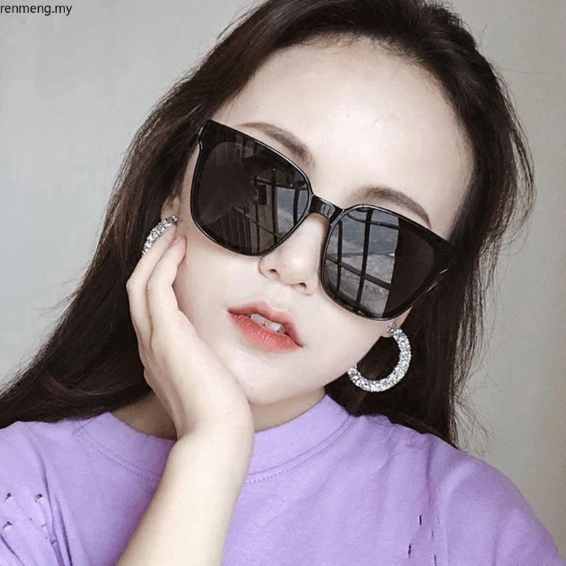 Thời trang mới Kính mát mắt mèo UV400 sang trọng cho nữ