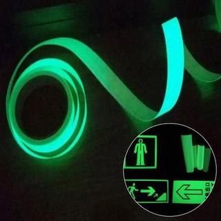 1 mét Băng keo phát sáng trong tối dùng trang trí nhà cửa (chọn màu)