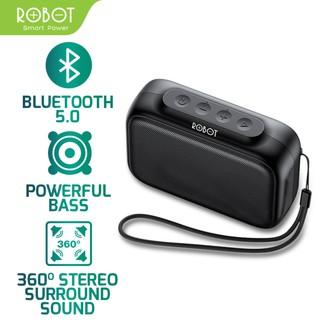 Loa Bluetooth mini Robot RB100 âm bass cực đỉnh Bluetooth 5.0 kết nối nhanh, công suất 3W, thiết kế gọn nhẹ dễ mang theo