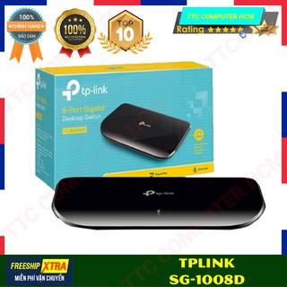 SWITCH TPLINK TL-SG1008D | Switch Để Bàn 8 Cổng Gigabit 8 Cổng 10/100/1000Mbps | SWITCH TPLINK SG 1008D V9
