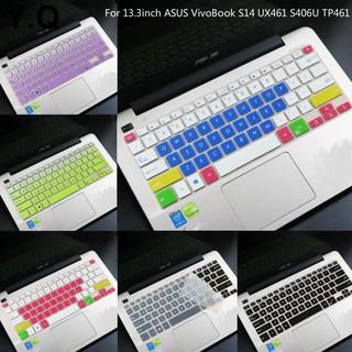 Miếng Dán Bàn Phím Silicon Siêu Mỏng D.F.Or 13.3 Inch Cho Asus Vivobook S14 Ux461 S406U Tp461
