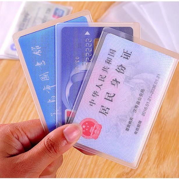 Túi bọc bảo vệ thẻ ngân hàng, thẻ tên chống nước- mua lẻ